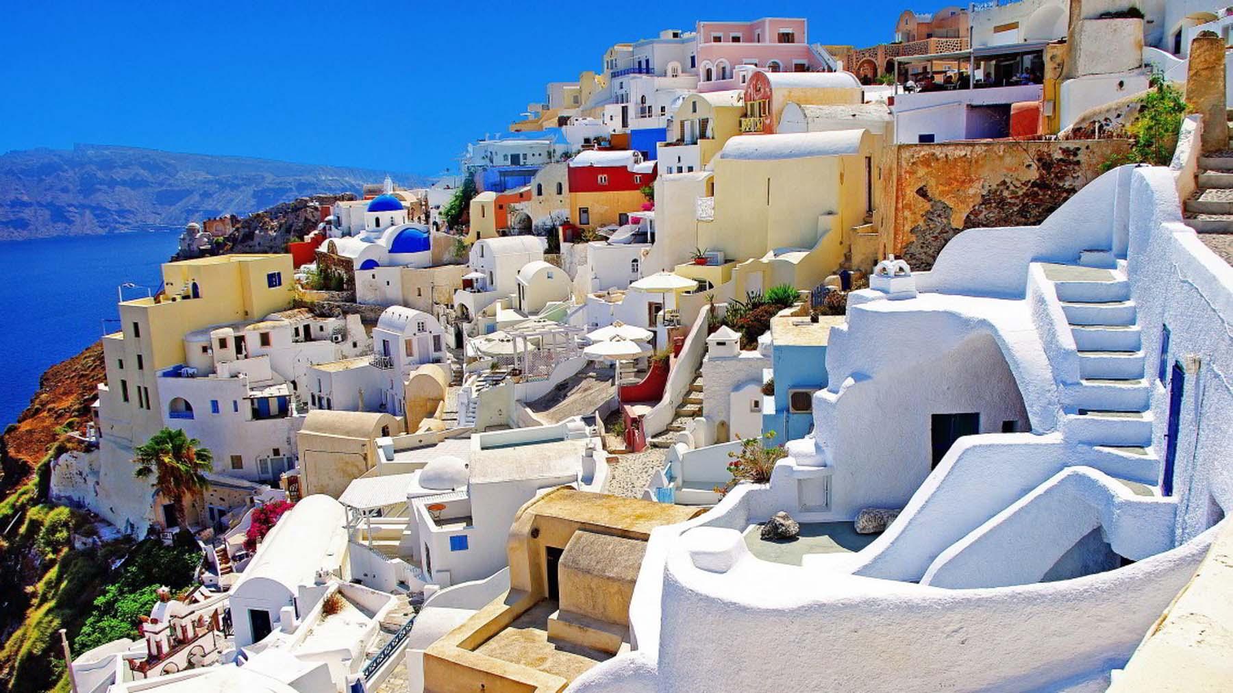 Luna de miel en las Islas Griegas