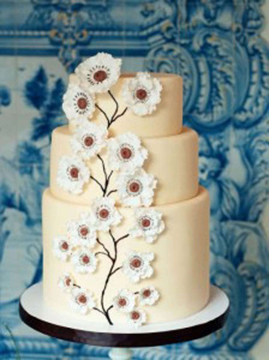 Tartas de boda de primavera