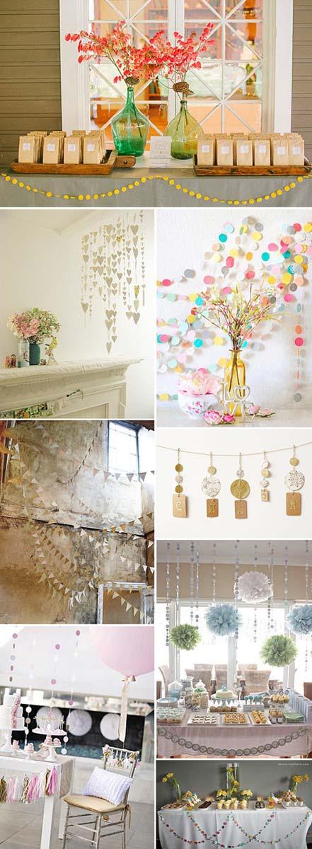 decoracion-de-bodas-con-guirnaldas-papel