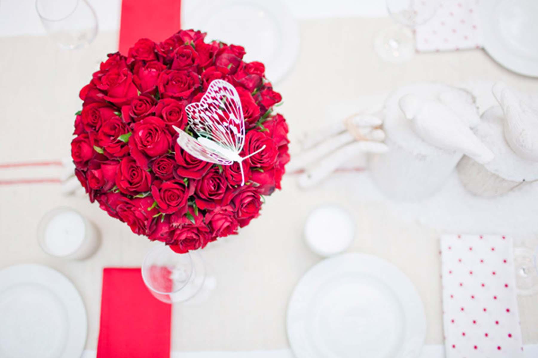 bouquet rosas rojas