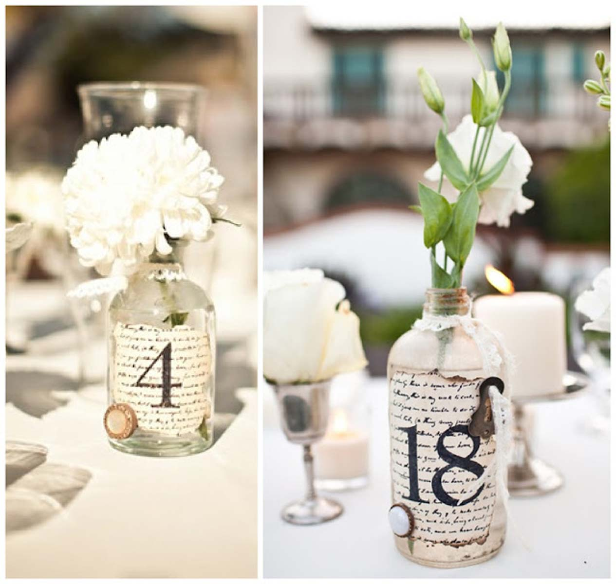 Decora tu boda con botellas