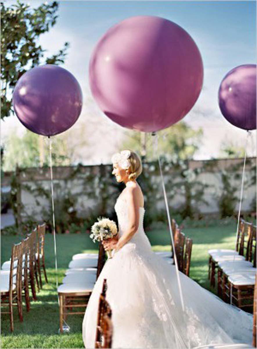 Globos gigantes bodas 11