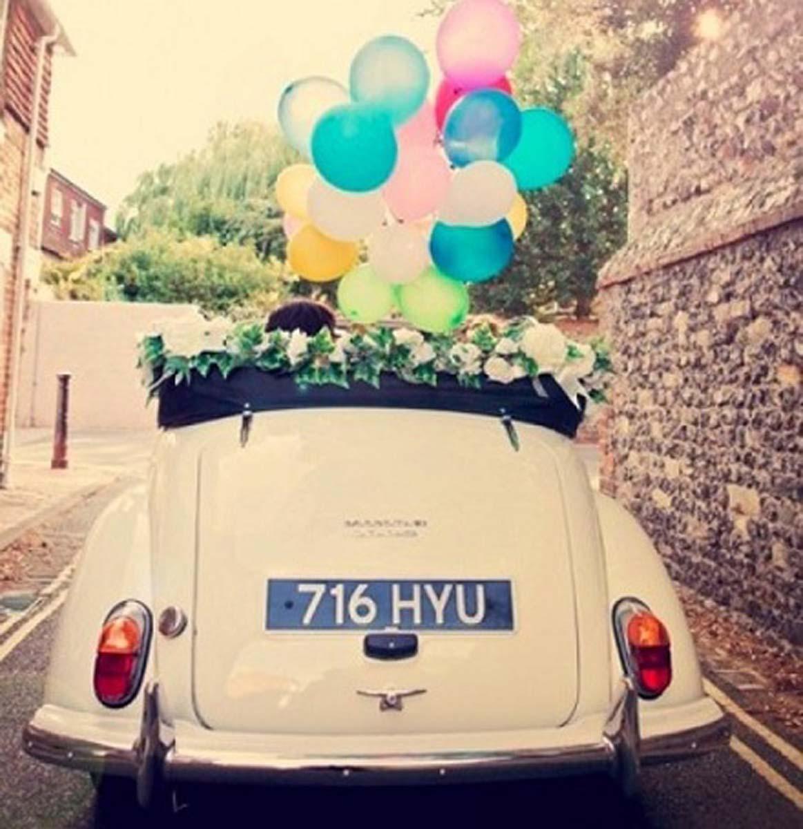 coche-novios-globos