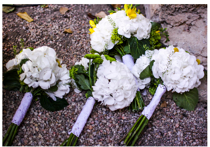 Cómo entregar el ramo de la novia