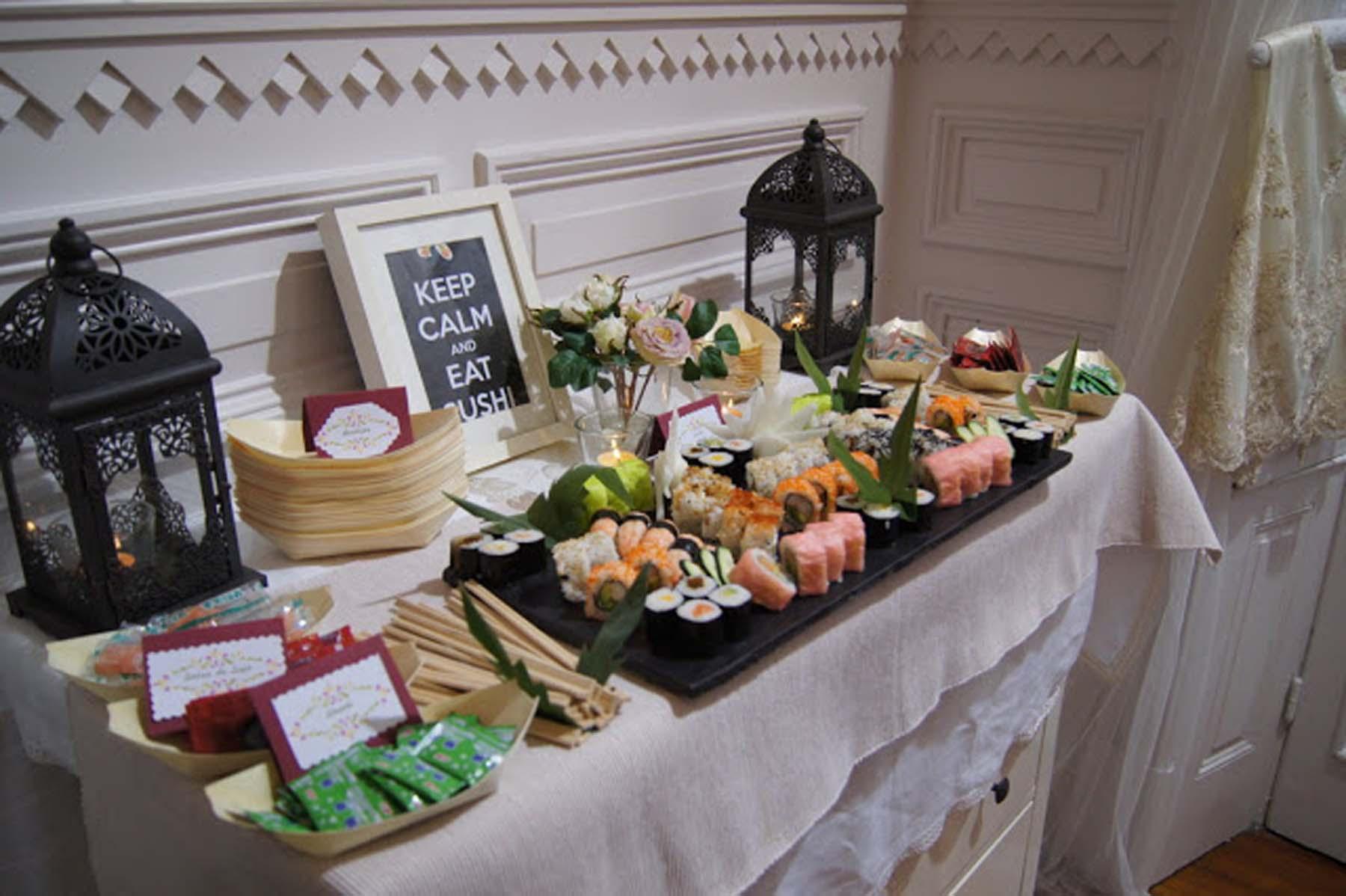 Puestos de comida para bodas
