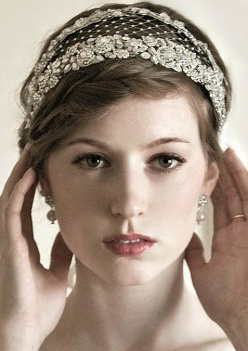 peinados vintage para novia