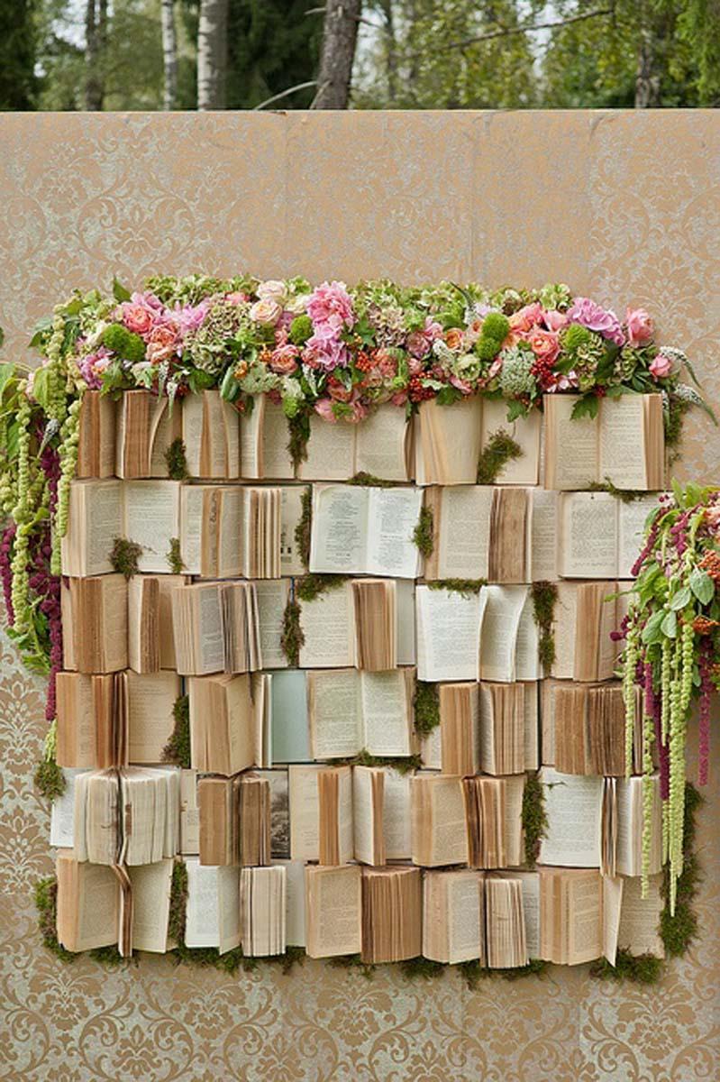 decoración-libros-boda