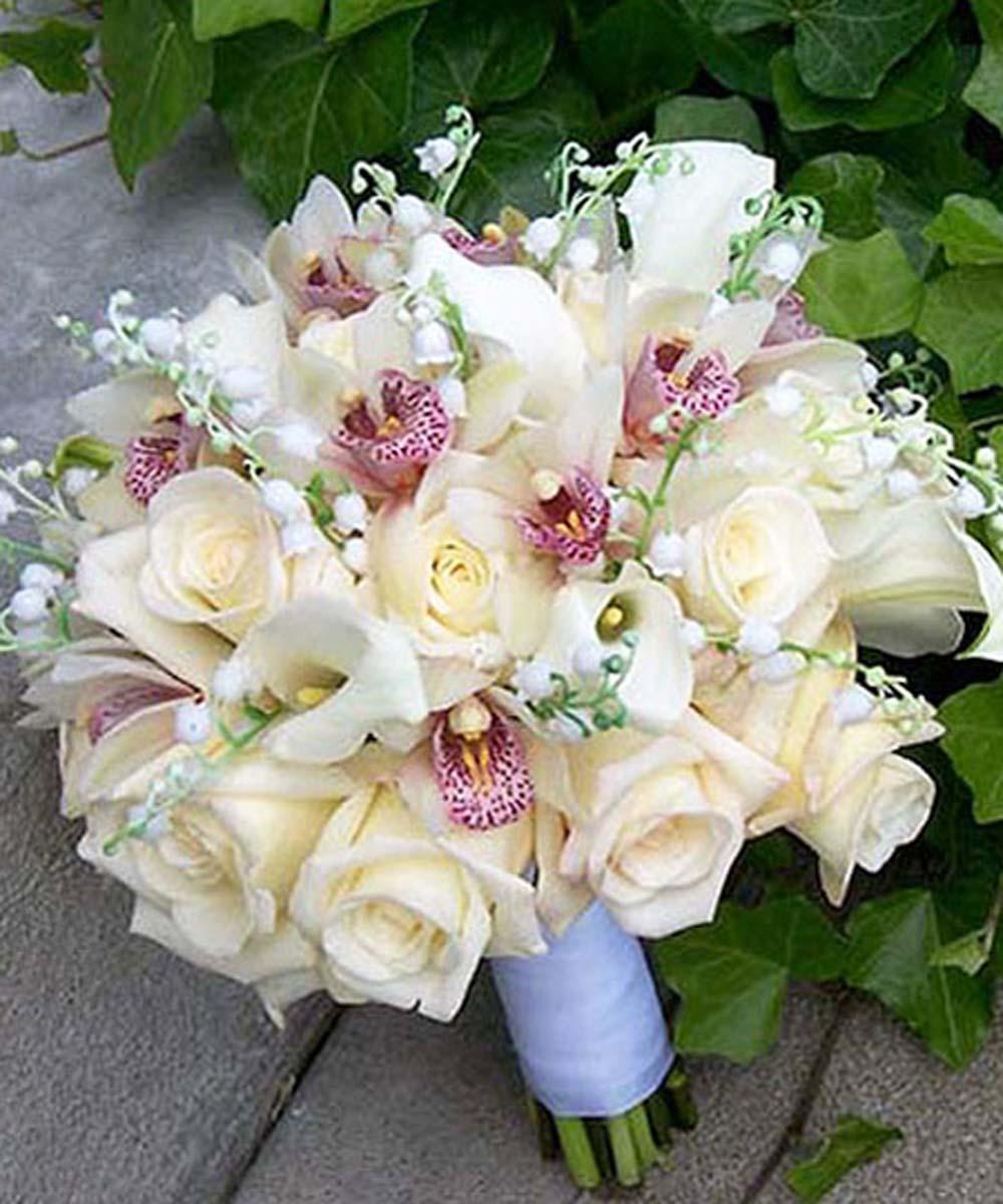 Ramos de novia. Bouquets de invierno