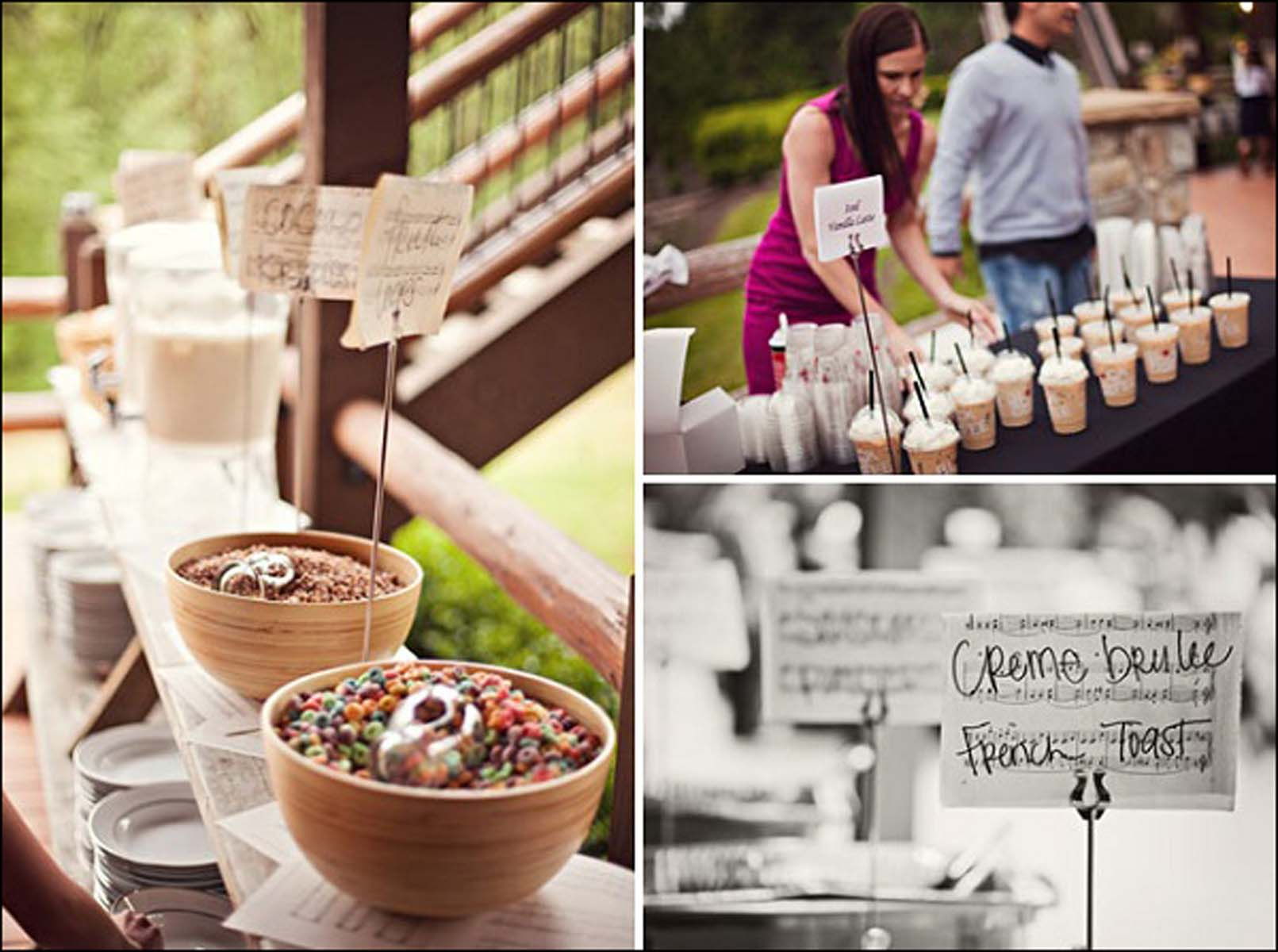 Coffee Bar para bodas