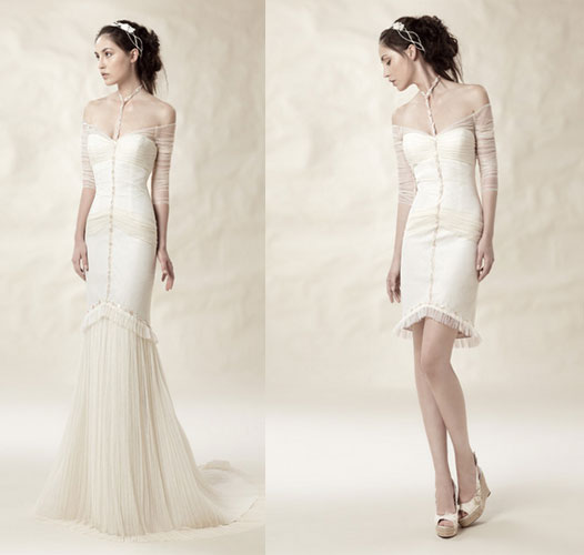 vestidos de novia convertibles - celebra tu boda en toledo