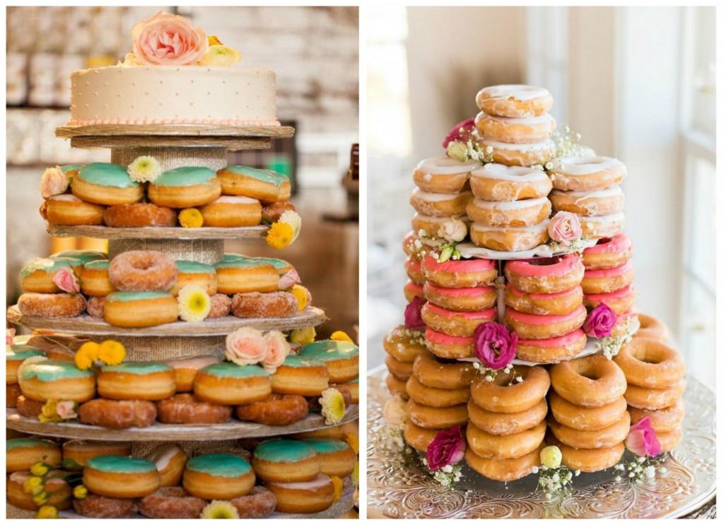 donuts para bodas