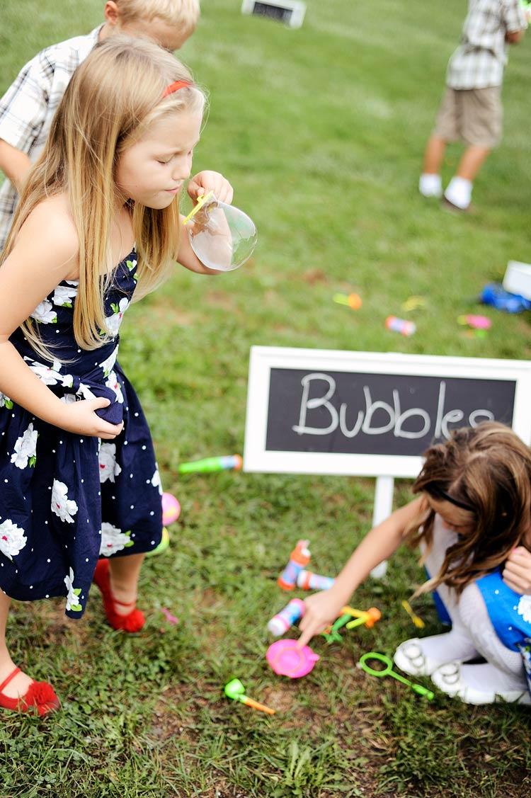 ideas para entretener a los niños en una boda
