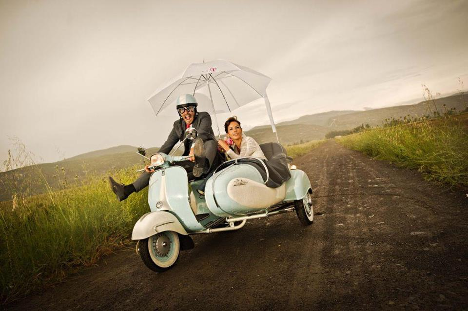 Vehículos originales para llegar a tu boda
