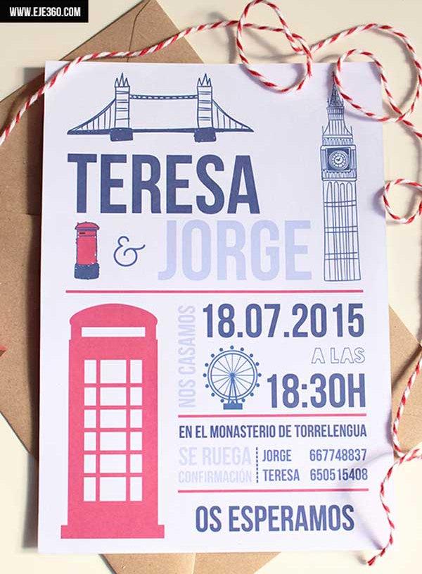 Tu boda en Toledo - Invitaciones
