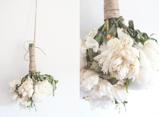 conservar el ramo de novia