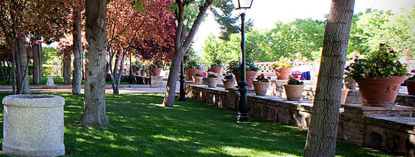 Cigarrales para bodas en Toledo