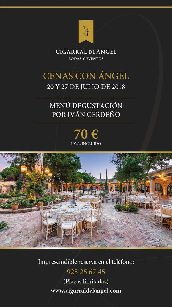 Cenas con Ángel 2018