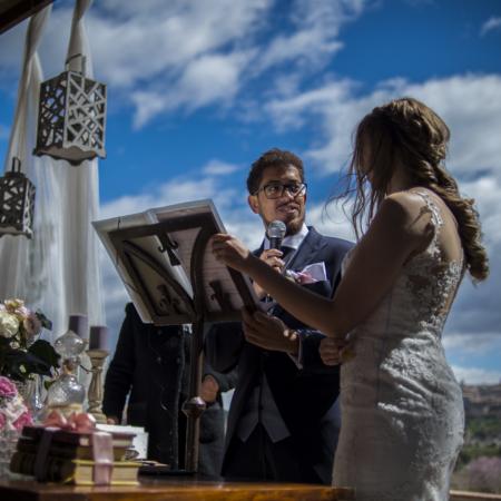 Ceremonia civil en Toledo