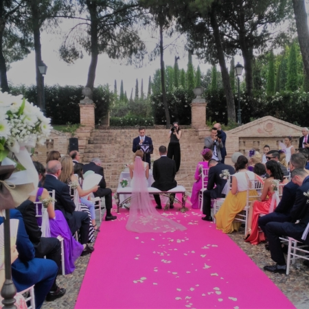 Alfombra para boda